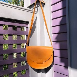 Able Local+Global Crossbody Leather Purse